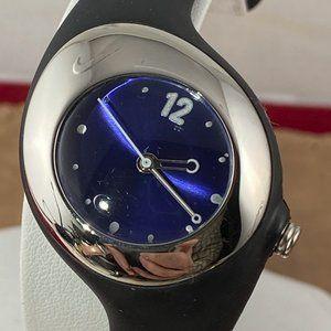 Asymmetrical Nike Blue Sports Women's Watch